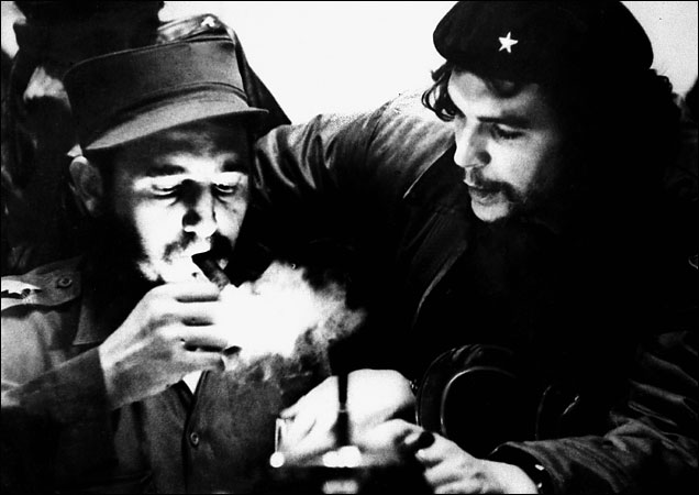 Фидель Кастро и Че Гевара 1959 год