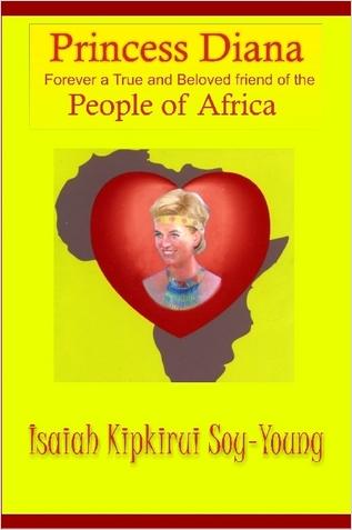 постер памяти леди ди от жителей африки