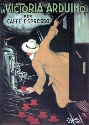 кофе эспрессо постер